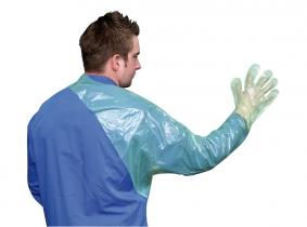 Veterinär Einmalhandschuh VETtop mit Schulterschutz 120cm, 50 Stück Veterinär Einmalhandschuh VETtop mit Schulterschutz 120cm, 50 Stück