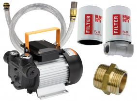 Blurea Dieselpumpen Set mit 2m Saugschlauch & Dieselfilter Blurea Dieselpumpen Set mit 2m Saugschlauch & Dieselfilter