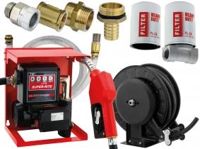 Blurea Dieseltankanlagen Set Easy mit Schlauchaufroller & Dieselfilter Blurea Dieseltankanlagen Set Easy mit Schlauchaufroller & Dieselfilter
