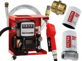 Blurea Dieseltankanlagen Set mit Dieselfilter-Set Blurea Dieseltankanlagen Set mit 2m Saugschlauch & Dieselfilter-Set