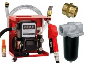 Blurea Dieseltankanlagen Set mit 2m Saugschlauch & Dieselfilter Blurea Dieseltankanlagen Set mit 2m Saugschlauch & Dieselfilter