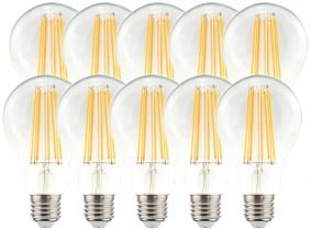 10x AdLuminis LED Bulb E27 klar 11W 1521 Lumen warmweiß 10x AdLuminis LED Bulb E27 klar 11W 1521 Lumen warmweiß