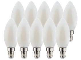 10x AdLuminis LED Candle matt E14 2,5W 250 Lumen 2.700K 10x AdLuminis LED Candle matt E14 2,5W 250 Lumen 2.700K