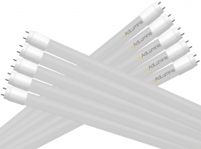 10x Tube LED T8 120 cm blanc froid 18 Watts 2.400 Lumens AdLuminis 10x Tube LED T8 120 cm blanc froid 18 Watts 2.400 Lumens AdLuminis
