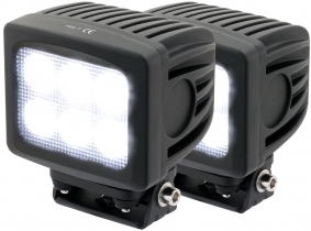 2x Phare de travail LED 4.800 Lumens 60 Watts 90° 10-30 Volts AdLuminis 2x Phare de travail LED 4.800 Lumens 60 Watts 90° 10-30 Volts AdLuminis