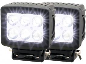 2x AdLuminis LED Arbeitsscheinwerfer T1060 60W 10° 4.800 Lumen 2x AdLuminis LED Arbeitsscheinwerfer T1060 60W 10° 4.800 Lumen