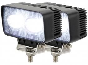2x AdLuminis LED Arbeitsscheinwerfer T1020 20 Watt 1.800 Lumen 2x AdLuminis LED Arbeitsscheinwerfer T1020 20 Watt 1.800 Lumen
