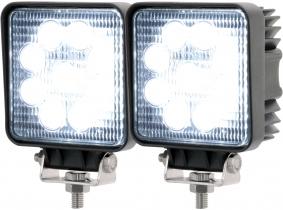 2x AdLuminis LED Arbeitsscheinwerfer T1027S 10-30V 60° 1.620 Lumen 2x AdLuminis LED Arbeitsscheinwerfer T1027S 10-30V 60° 1.620 Lumen