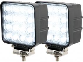 2x AdLuminis LED Arbeitsscheinwerfer T1048 48W 60° 2.880 Lumen 2x AdLuminis LED Arbeitsscheinwerfer T1048 48W 60° 2.880 Lumen