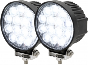 2x AdLuminis LED Arbeitsscheinwerfer T1042 42W 60° 2.520 Lumen 2x AdLuminis LED Arbeitsscheinwerfer T1042 42W 60° 2.520 Lumen