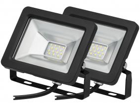 2x Projecteur LED plat 10 Watts 850 Lumens AdLuminis 2x Projecteur LED plat 10 Watts 850 Lumens AdLuminis
