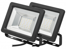 2x Projecteur LED plat 20 Watts 1.700 Lumens AdLuminis 2x Projecteur LED plat 20 Watts 1.700 Lumens AdLuminis
