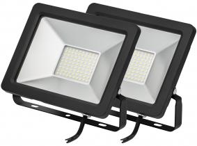2x Projecteur LED plat 30 Watts 2.450 Lumens AdLuminis 2x Projecteur LED plat 30 Watts 2.450 Lumens AdLuminis