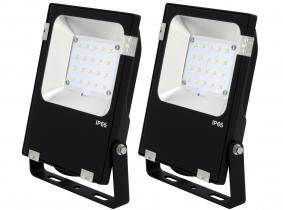 2x Projecteur LED Philips plat 20W 2.600lm PCCooler AdLuminis 2x Projecteur LED Philips plat 20W 2.600lm PCCooler AdLuminis