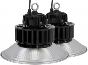 2x Cloche LED high bay 100W 13.000lm LED Philips suspension industrielle AdLuminis 2x Cloche LED high bay 100W 13.000lm LED Philips suspension industrielle AdLuminis