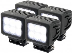 4x Phare de travail LED 4.800 Lumens 60 Watts 90° 10-30 Volts AdLuminis 4x Phare de travail LED 4.800 Lumens 60 Watts 90° 10-30 Volts AdLuminis