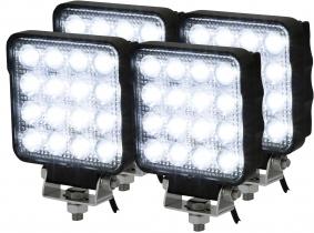 4x Phare de travail LED OSRAM 2.100 Lumens IP69K 25 Watts 60° 10-30 Volts AdLuminis 4x Phare de travail LED OSRAM 2.100 Lumens IP69K 25 Watts 60° 10-30 Volts AdLuminis