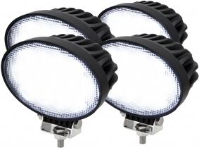 4x Phare de travail LED 5.200 Lumens 65 Watts 60° 10-30 Volts AdLuminis 4x Phare de travail LED 5.200 Lumens 65 Watts 60° 10-30 Volts AdLuminis