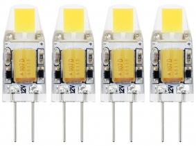 4x AdLuminis LED Stiftsockellampe G4 1W 110 Lumen 2.700K 4x AdLuminis LED Stiftsockellampe G4 1W 110 Lumen 2.700K