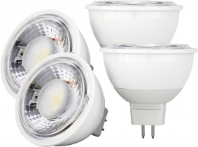 4x AdLuminis MR16 LED SMD Reflektorlampe dimmbar 4W 350 Lumen 4x AdLuminis MR16 LED SMD Reflektorlampe dimmbar 4W 350 Lumen