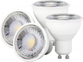 4x LED Reflektorlampe GU10 4W 350 Lumen 4x LED Reflektorlampe GU10 4W 350 Lumen