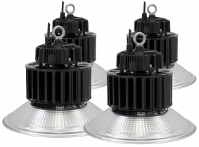 4x Cloche LED high bay 150W 19.500lm LED Philips suspension industrielle AdLuminis 4x Cloche LED high bay 150W 19.500lm LED Philips suspension industrielle AdLuminis