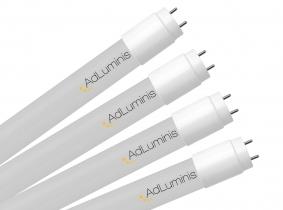 4x Tube LED T8 120 cm blanc froid 18 Watts 2.400 Lumens AdLuminis 4x Tube LED T8 120 cm blanc froid 18 Watts 2.400 Lumens AdLuminis