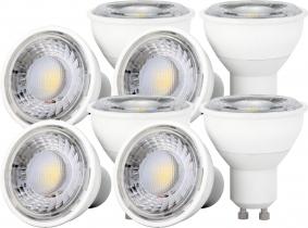 8x LED Reflektorlampe GU10 4W 350 Lumen 8x LED Reflektorlampe GU10 4W 350 Lumen