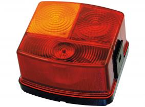 Blink-, Brems- und Rückleuchte mit Klickverschluss links ohne Kennzeichenleuchte Blink-, Brems- und Rückleuchte mit Klickverschluss links ohne Kennzeichenleuchte