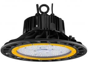 Cloche LED UFO high bay 100W 14.500lm dimmable suspension industrielle AdLuminis Cloche LED UFO high bay 100W 14.500lm dimmable suspension industrielle AdLuminis