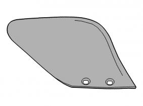 D 2 (347 0540) rechts Düngereinleger Streichblech Lemken D 2 (347 0540) rechts Düngereinleger Streichblech Lemken