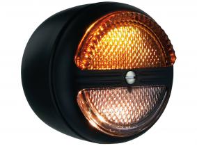OLDTIMER Blink-Positions-Leuchte rund 80x63mm OLDTIMER Blink-Positions-Leuchte rund 80x63mm