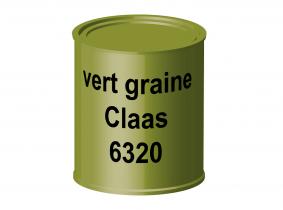 Peinture laque pour tracteur Claas vert graine 6320 ERBEDOL, pot de 750 ml Peinture laque pour tracteur Claas vert graine 6320 ERBEDOL, pot de 750 ml