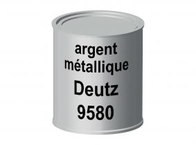 Peinture laque pour tracteur Deutz argent métallique 9580 ERBEDOL, pot de 750 ml Peinture laque pour tracteur Deutz argent métallique 9580 ERBEDOL, pot de 750 ml