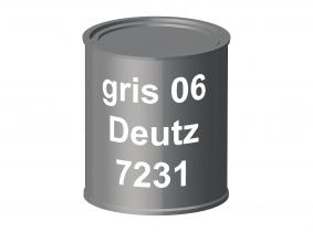 Peinture laque pour tracteur Deutz 06 gris 7231 ERBEDOL, pot de 750 ml Peinture laque pour tracteur Deutz 06 gris 7231 ERBEDOL, pot de 750 ml