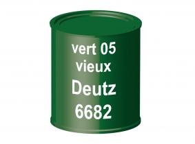 Peinture laque pour tracteur Deutz 05 vert vieux 6682 ERBEDOL, pot de 750 ml Peinture laque pour tracteur Deutz 05 vert vieux 6682 ERBEDOL, pot de 750 ml