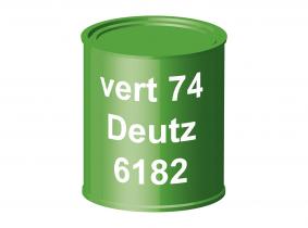 Peinture laque pour tracteur Deutz 74 vert 6182 ERBEDOL, pot de 750 ml Peinture laque pour tracteur Deutz 74 vert 6182 ERBEDOL, pot de 750 ml