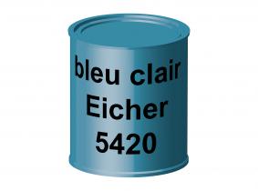 Peinture laque pour tracteur Eicher bleu clair 5420 ERBEDOL, pot de 750 ml Peinture laque pour tracteur Eicher bleu clair 5420 ERBEDOL, pot de 750 ml