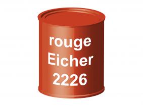 Peinture laque pour tracteur Eicher rouge 2226 ERBEDOL, pot de 750 ml Peinture laque pour tracteur Eicher rouge 2226 ERBEDOL, pot de 750 ml