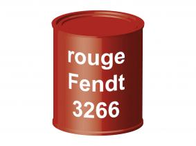 Peinture laque pour tracteur Fendt rouge 3266 ERBEDOL, pot de 750 ml Peinture laque pour tracteur Fendt rouge 3266 ERBEDOL, pot de 750 ml
