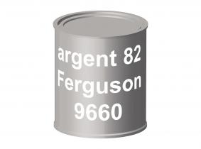 Peinture laque pour tracteur Ferguson 82 argent 9660 ERBEDOL, pot de 750 ml Peinture laque pour tracteur Ferguson 82 argent 9660 ERBEDOL, pot de 750 ml