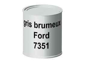 Peinture laque pour tracteur Ford gris brumeux 7351 ERBEDOL, pot de 750 ml Peinture laque pour tracteur Ford gris brumeux 7351 ERBEDOL, pot de 750 ml