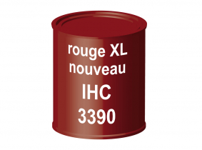 Peinture laque pour tracteur IHC XL nouveau rouge 3390 ERBEDOL, pot de 750 ml Peinture laque pour tracteur IHC XL nouveau rouge 3390 ERBEDOL, pot de 750 ml