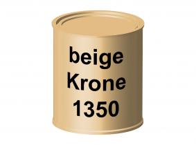 Peinture laque pour tracteur Krone beige 1350 ERBEDOL, pot de 750 ml Peinture laque pour tracteur Krone beige 1350 ERBEDOL, pot de 750 ml