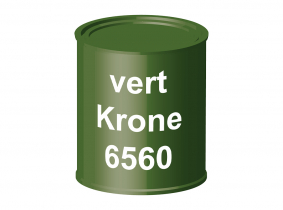 Peinture laque pour tracteur Krone vert 6560 ERBEDOL, pot de 750 ml Peinture laque pour tracteur Krone vert 6560 ERBEDOL, pot de 750 ml