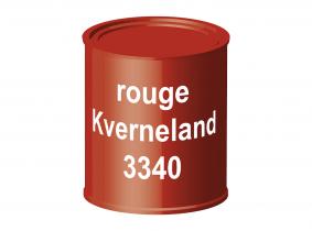Peinture laque pour tracteur Kverneland rouge 3340 ERBEDOL, pot de 750 ml Peinture laque pour tracteur Kverneland rouge 3340 ERBEDOL, pot de 750 ml