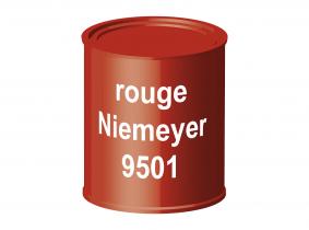 Peinture laque pour tracteur Niemeyer rouge 9501 ERBEDOL, pot de 750 ml Peinture laque pour tracteur Niemeyer rouge 9501 ERBEDOL, pot de 750 ml