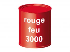 Peinture laque pour tracteur rouge feu 3000 ERBEDOL, pot de 750 ml Peinture laque pour tracteur rouge feu 3000 ERBEDOL, pot de 750 ml