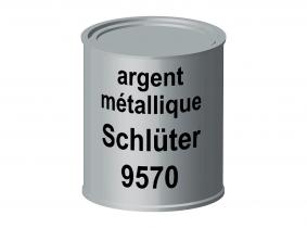 Peinture laque pour tracteur Schlüter argent métallique 9570 ERBEDOL, pot de 750 ml Peinture laque pour tracteur Schlüter argent métallique 9570 ERBEDOL, pot de 750 ml