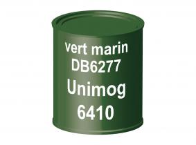 Peinture laque pour tracteur Unimog DB6277 vert marin 6410 ERBEDOL, pot de 750 ml Peinture laque pour tracteur Unimog DB6277 vert marin 6410 ERBEDOL, pot de 750 ml